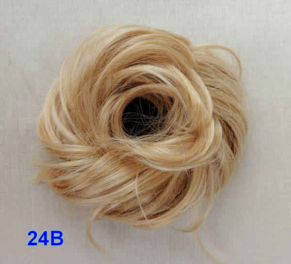 Gumka treska dopinka włosy kucyk KOLORY DO WYBORU