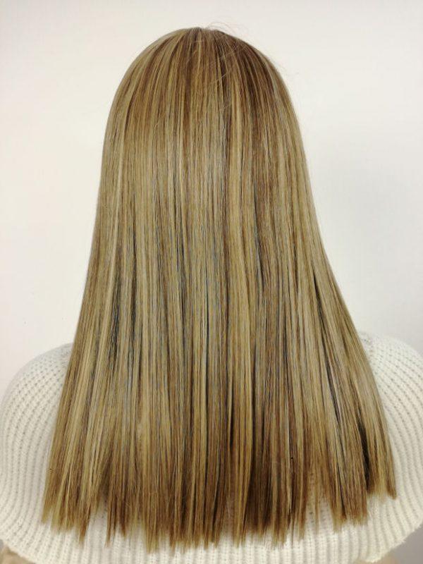 Peruka piaskowy blond MEGA PROSTA nowość