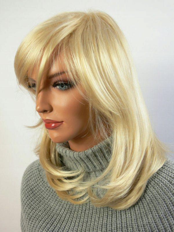 Peruka damska bardzo jasny blond frozen blonde