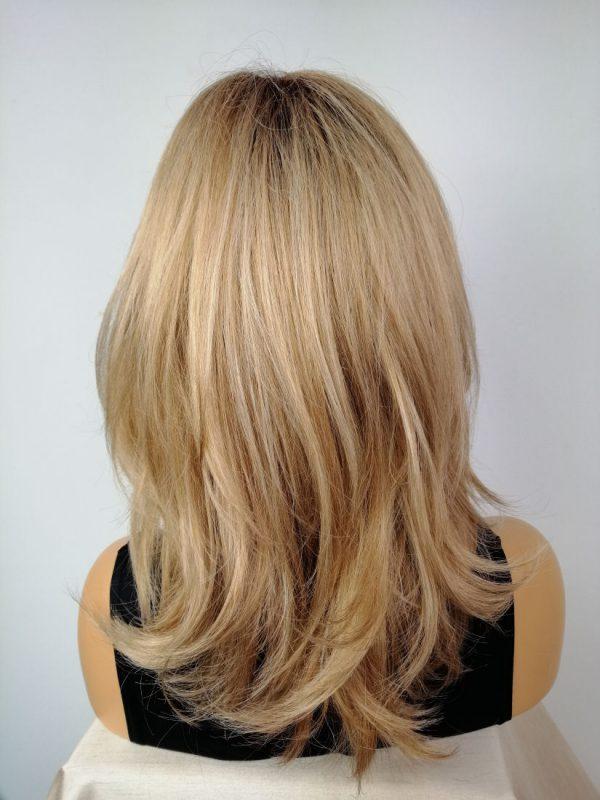 Peruka cynamonowy blond cieniowana NEW