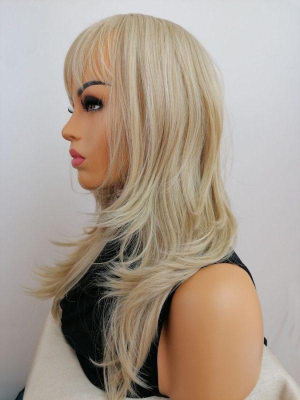 Peruka blond pięknie cieniowana PROFESJONALNA